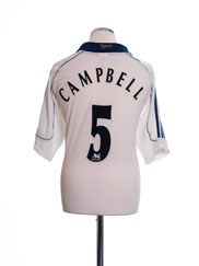 1999-01 Tottenham Home Shirt Campbell #5 XL