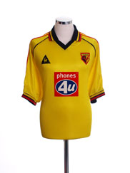 1999-01 Watford Home Shirt L