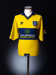 1999-01 West Brom Away Shirt L