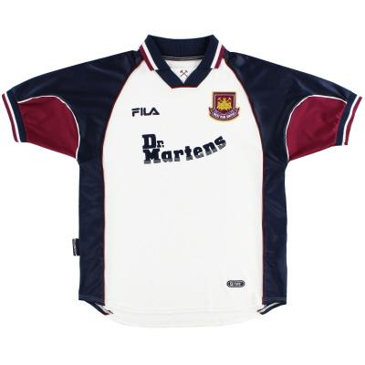 1999-01 West Ham Away Shirt XL