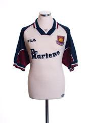 1999-01 West Ham Away Shirt M
