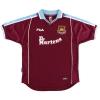 1999-01 West Ham Home Shirt Di Canio #10 XXL
