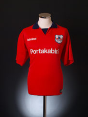 1999-01 York City Home Shirt *Mint* XL