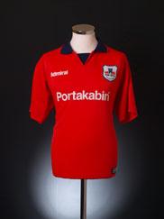 1999-01 York City Home Shirt