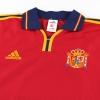 1999-02 Spain adidas Home Shirt XL
