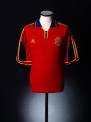 1999-02 Spain Home Shirt L