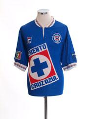 1999 Cruz Azul Home Shirt XL