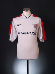 New England Revolution  Away forma (Original)