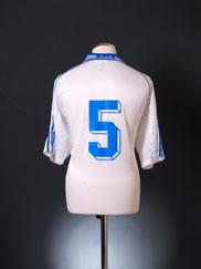 2000-01 AJ Auxerre Home Shirt #5 *Mint* XL
