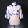 2000-01 AJ Auxerre Home Shirt #3 *Mint* XL