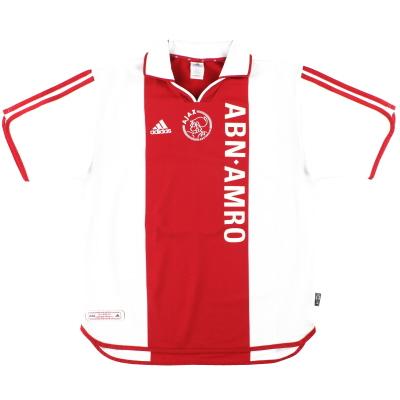 2000-01 Ajax adidas Centenary Home Shirt M