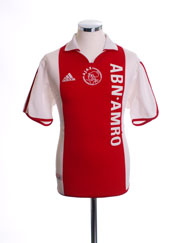 2000-01 Ajax Centenary Home Shirt