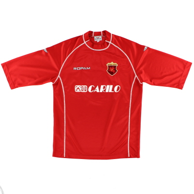 2000-01 Ancona Home Shirt #3 L