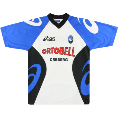 2000-01 Atalanta Asics Player Issue Training Shirt #24 XL