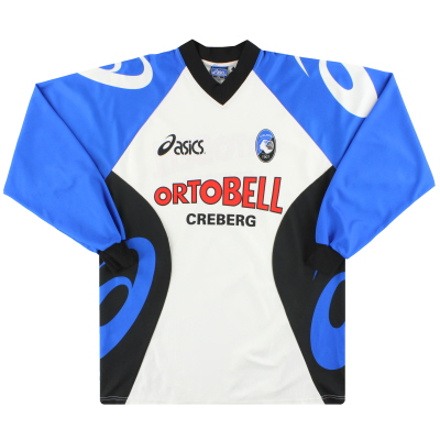 2000-01 Atalanta Asics Player Issue Training Shirt #11 L/S XL