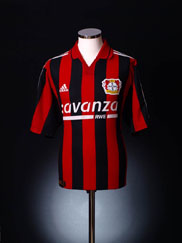 2000-01 Bayer Leverkusen Home Shirt L