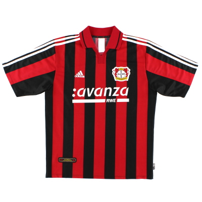2000-01 Bayer Leverkusen Home Shirt Y