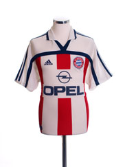 2000-01 Bayern Munich Away Shirt *Mint* L