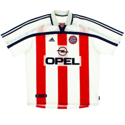 2000-01 Bayern Munich Away Shirt *Mint* XL