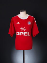 2000-01 Bayern Munich Champions League Shirt *Mint* L
