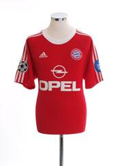 2000-01 Bayern Munich Champions League Shirt M