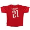 2000-01 Bayern Munich Champions League Shirt Zickler #21 M
