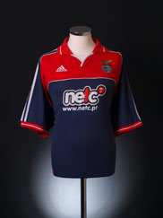 2000-01 Benfica Away Shirt XL