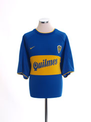 2000-01 Boca Juniors Home Shirt XL