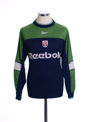2000-01 Bolton Goalkeeper Shirt S
