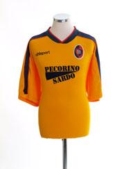 2000-01 Cagliari Third Shirt XL