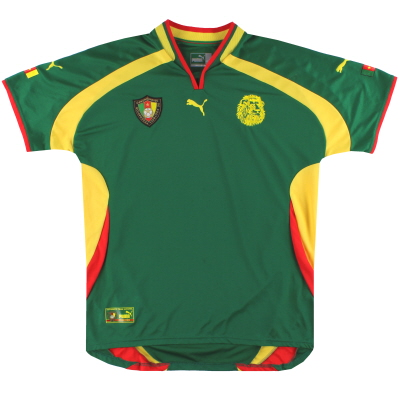 2000-01 Cameroon Puma Home Shirt XL