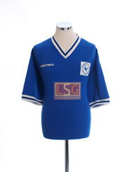 2000-01 Cardiff City Cup Home Shirt L