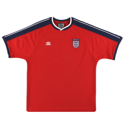 2000-01 England Umbro Training Shirt L