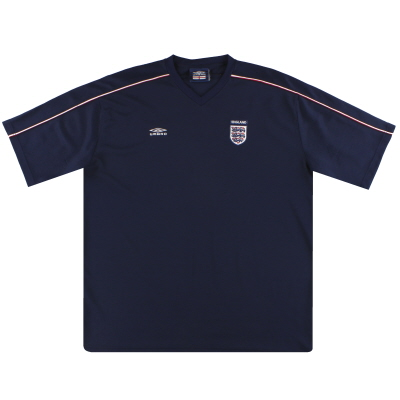 2000-01 England Umbro Training Shirt XXL