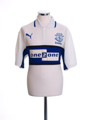 2000-01 Everton Third Shirt M