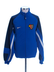 2000-01 FC Basel Nike Training Jacket M