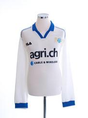 2000-01 FC Zurich Home Shirt L/S XXL