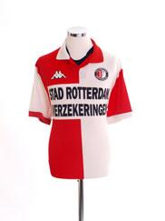2000-01 Feyenoord Home Shirt M