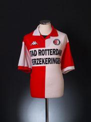 2000-01 Feyenoord Home Shirt XL