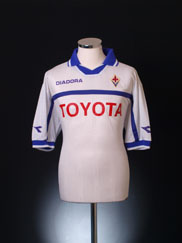 2000-01 Fiorentina Away Shirt XL