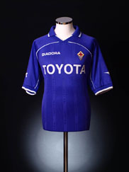 2000-01 Fiorentina Home Shirt L