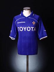 2000-01 Fiorentina Home Shirt L