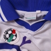 2000-01 Fiorentina Match Issue Away Shirt Rossi #19 L/S XL