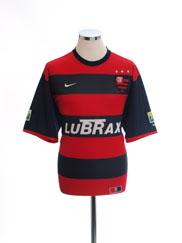 2000-01 Flamengo Home Shirt XL