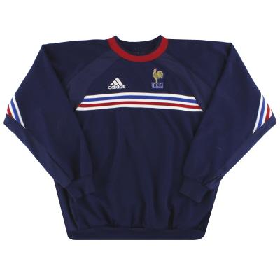 2000-01 France adidas Training Jumper L