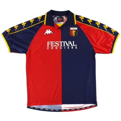 2000-01 Genoa Kappa Home Shirt L