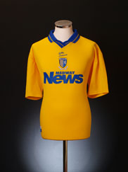 2000-01 Gillingham Away Shirt M