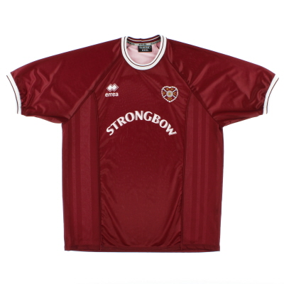 2000-01 Hearts Home Shirt XXXL