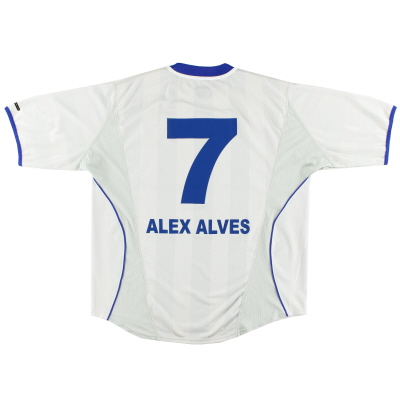 2000-01 Hertha Berlin Away Shirt Alex Alves #7 XL