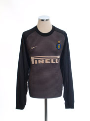 2000-01 Inter Milan Goalkeeper Shirt XL